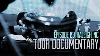 Curren$y - Pilot Talk 3 Tour : Raleigh (Episode 03)