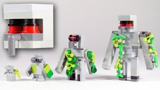 getlinkyoutube.com-How To Build LEGO Minecraft Iron Golem