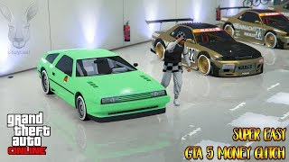 Super Easy $1,000,000 Every 30 Seconds In GTA 5 Online Money Glitch