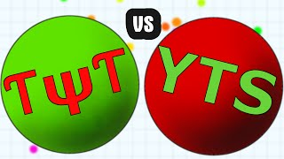 getlinkyoutube.com-CLANWAR // TYT vs YTS // Epic Agario Clan Gameplay in public Server