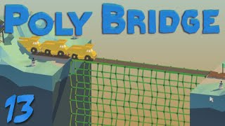 getlinkyoutube.com-Poly Bridge 13 Big Trucks!