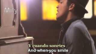 Bruno Mars - Just The Way You Are Subtitulado Español Ingles