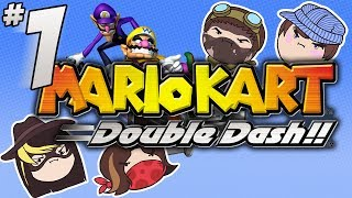 getlinkyoutube.com-Mario Kart Double Dash!!: Just Drive - PART 1 - Steam Rolled