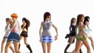getlinkyoutube.com-SNSD Gee (Japanese) HD Dead Fantasy Anime Dance Version
