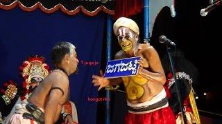getlinkyoutube.com-Yakshagana -- Bantwala as Jagajatti - Hasya