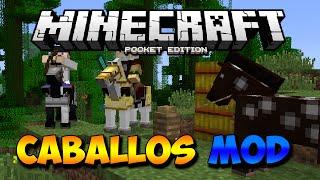 getlinkyoutube.com-CABALLOS MOD PARA MINECRAFT PE 0.12.1 l Mods Para Minecraft PE 0.12.1