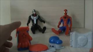 getlinkyoutube.com-Homem Aranha Massinha de Modelar Marvel Play Doh Spider-man