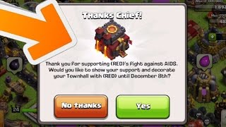 getlinkyoutube.com-Clash of Clans - UPDATE IS HERE! CoC RED Update! BUYING NEW ITEM! GET A RED FLAG!