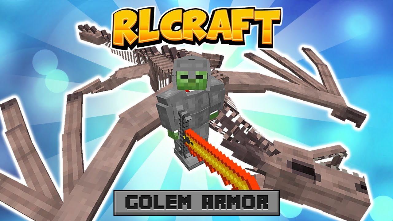 How To Get Golem Armor in RLCraft