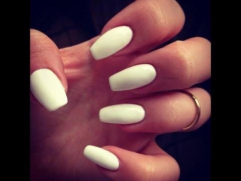 Principiantes: Tutorial cómo hacer uñas acrílicas / porcelana en casa paso a paso