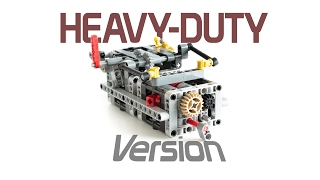 getlinkyoutube.com-LEGO Technic 8 SPEED SEQUENTIAL GEARBOX V3 with Instructions