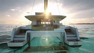 getlinkyoutube.com-The New 47 Fountaine Pajot Sailing Catamaran