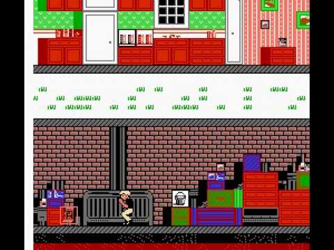 Home Alone - Home Alone NES game - User video