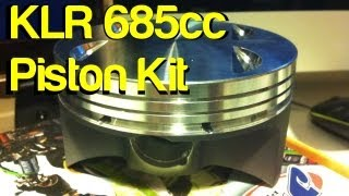 getlinkyoutube.com-KLR Mods - 685cc Piston Upgrade