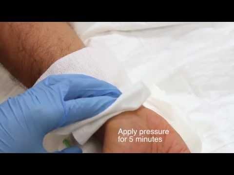 Arterial Blood Gas (ABG) sampling using local anaesthetic demonstration
