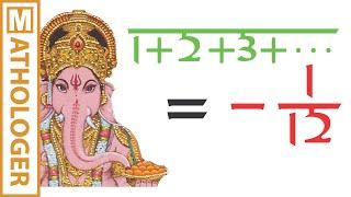 getlinkyoutube.com-Ramanujan: Making sense of 1+2+3+... = -1/12 and Co.