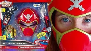 getlinkyoutube.com-Power Rangers Super Megaforce DX Training Set Review! (Feb 2014)