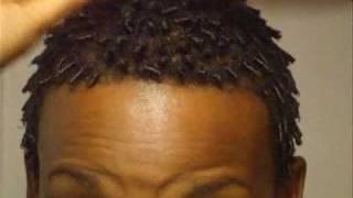 getlinkyoutube.com-Finger/Comb Coils Tutorial for your Short TWA
