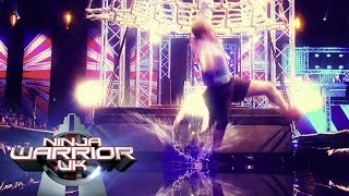 getlinkyoutube.com-Ninja Warrior UK 2016 Ultimate Splashdown Compilation | Ninja Warrior UK