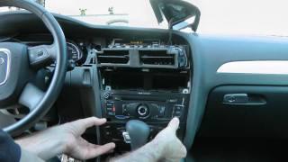 getlinkyoutube.com-Audi A4 8K MMI Zemex Freisprecheinrichtung