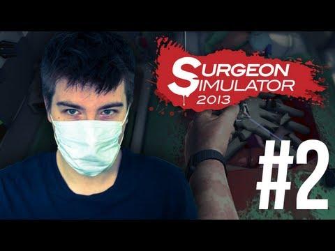 Surgeon Simulator 2013: NERKI, młotek, uraz szczęki, gdzie są moje kombinerki? (odc. 2)