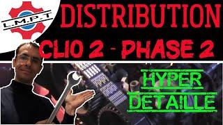 getlinkyoutube.com-Changement distribution Clio2 phase2 en détails