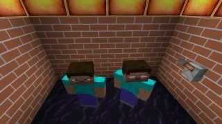 getlinkyoutube.com-Minecraft Sąsiedzi z Piekła Rodem #4