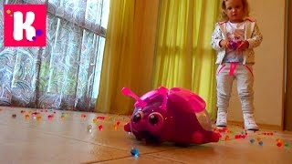 getlinkyoutube.com-Орбиз Божья коровка на р/у игровой набор распаковка Orbeez Ladybug Scooper toy unbpxing