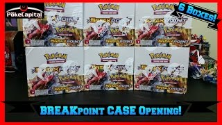 getlinkyoutube.com-Pokemon Cards - BREAKpoint Booster Box Case Opening of 6 Boxes