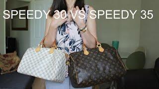 Louis Vuitton Speedy 30 VS Louis Vuitton Speedy 35: Comparison