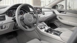 getlinkyoutube.com-2015 Audi A8 L W12 - INTERIOR