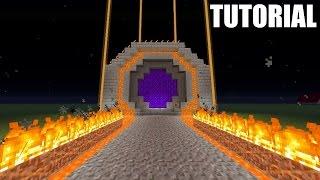 getlinkyoutube.com-Minecraft Tutorial: How To Make An EPIC NETHER PORTAL!!!