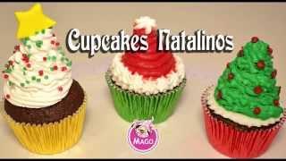 getlinkyoutube.com-Cupcakes Especial de Natal