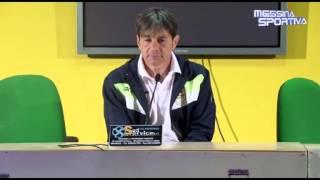 Il tecnico della Salernitana Menichini presenta la trasferta di Messina