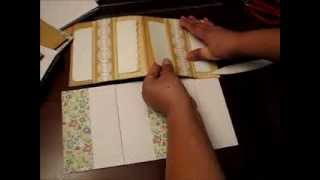 getlinkyoutube.com-How to make 6x6 Pocket Pages - 10 Variations