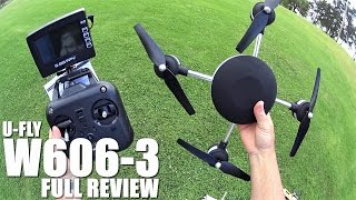 getlinkyoutube.com-HUAJUN UFLY W606-3 5.8G FPV Quadcopter(Lily) - Full Review - [UnBox, Inspection, Setup, Flight Test]
