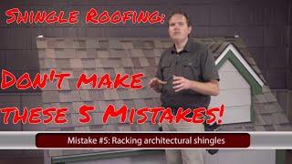 getlinkyoutube.com-Installing Asphalt Shingles: 5 Common Mistakes to Avoid