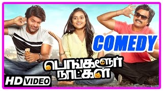 getlinkyoutube.com-Bangalore Naatkal Tamil Movie | Comedy Scenes | Arya | Bobby Simha | Sri Divya | Rana | Samantha