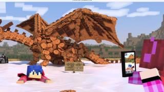 getlinkyoutube.com-DanCole - Die Young (Dante & Nicole) Minecraft My street (Music Video)