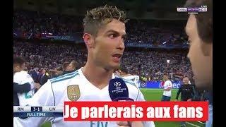 Cristiano Ronaldo : «C'était bien de jouer au Real...» width=