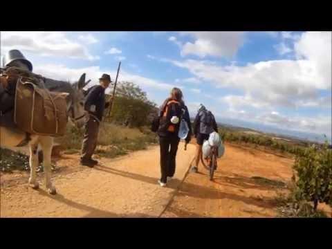 Camino frances Santiago Bici 2011 3/13 HD
