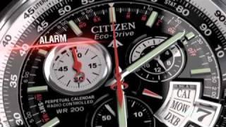 getlinkyoutube.com-Citizen Eco-Drive World Perpetual AT Watch