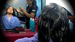 getlinkyoutube.com-Beauty - Hair Spa - Sathiyam tv Shows