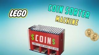 getlinkyoutube.com-Lego Coin Sorter Machine 'Amazing'