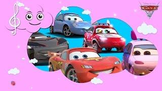 getlinkyoutube.com-Car 2 Disney Finger Family | Nursery Rhymes | rhymesw | My Nursery rhyme