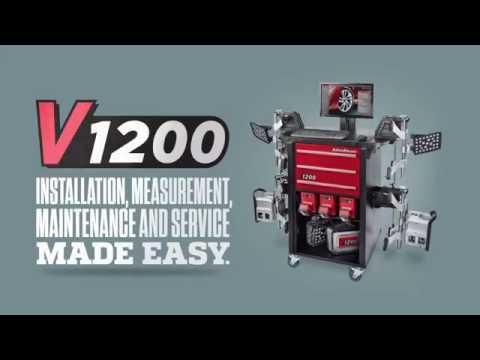 3D стенд развал-схождение V1200