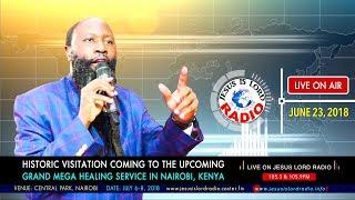 GLORIOUS VISITATION COMING TO THE UPCOMING GRAND MEGA HEALING SERVICE  ON 6th-8th JULY 2018, NAIROBI