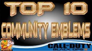 getlinkyoutube.com-Black Ops 3 - Top 10 Community Emblems (Week 1)