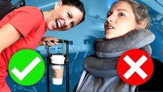 Testing Travel Hacks At The Airport
