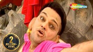 getlinkyoutube.com-Punjabi Funny Scene - Wife Hitting Husband - Family 422 - Gurchet Chittarkar